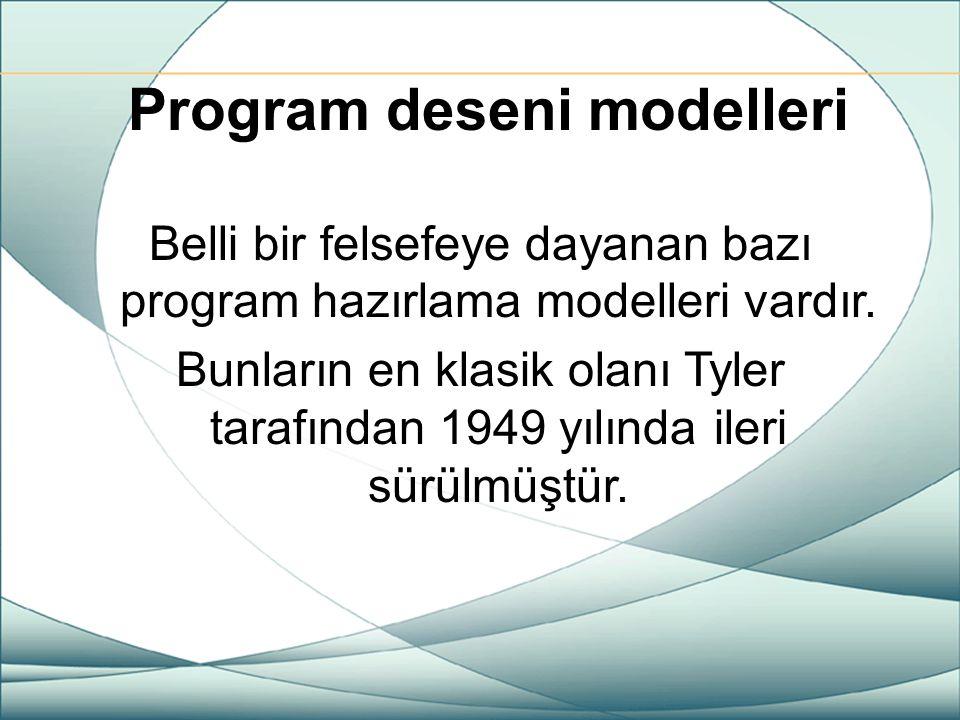 Program deseni modelleri