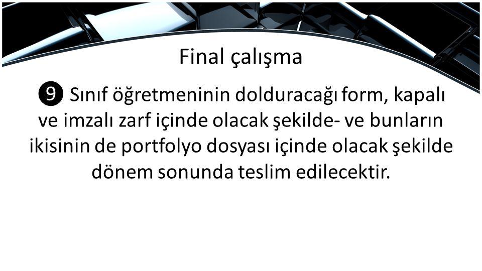 Final çalışma