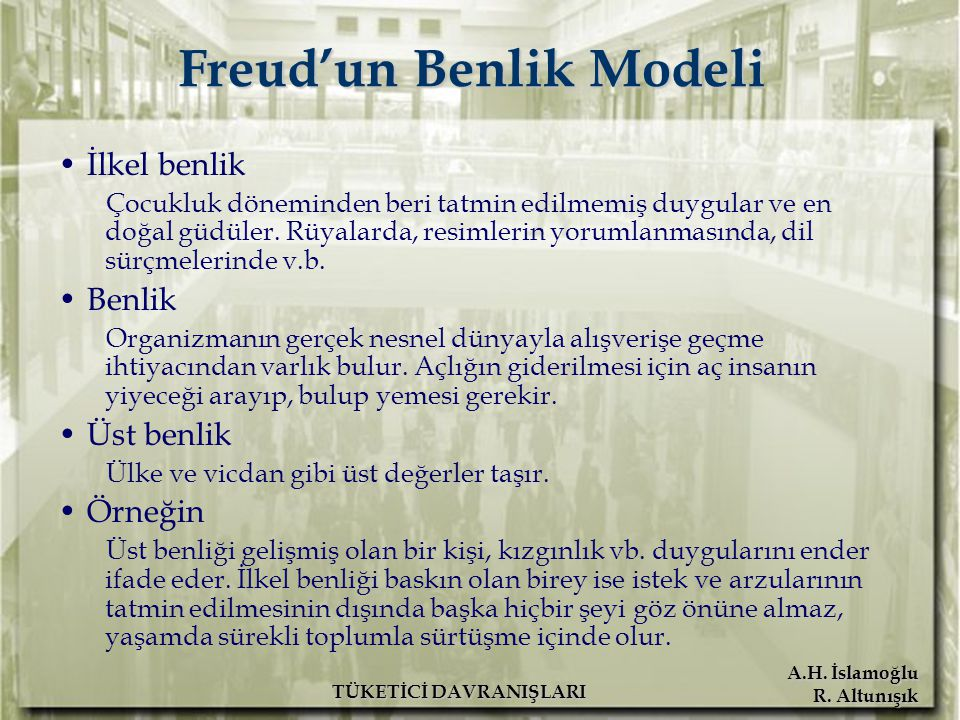 Freud'un Benlik Modeli