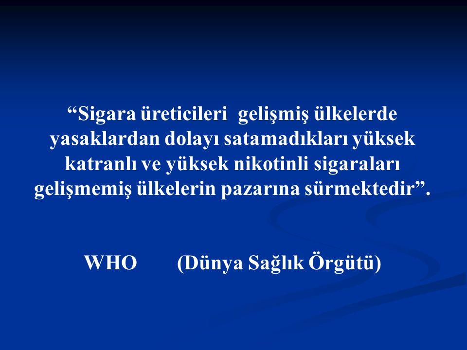 WHO (Dünya Sağlık Örgütü)
