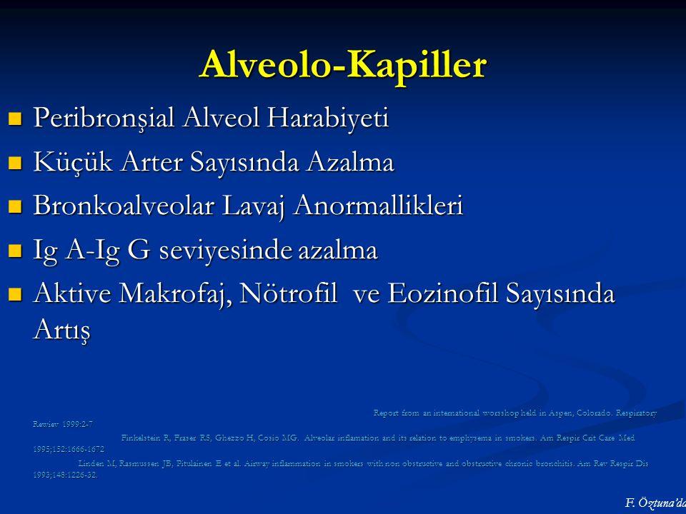 Alveolo-Kapiller Peribronşial Alveol Harabiyeti