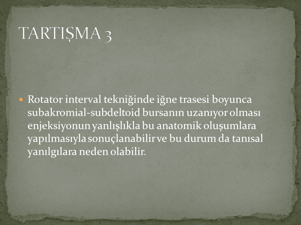 TARTIŞMA 3