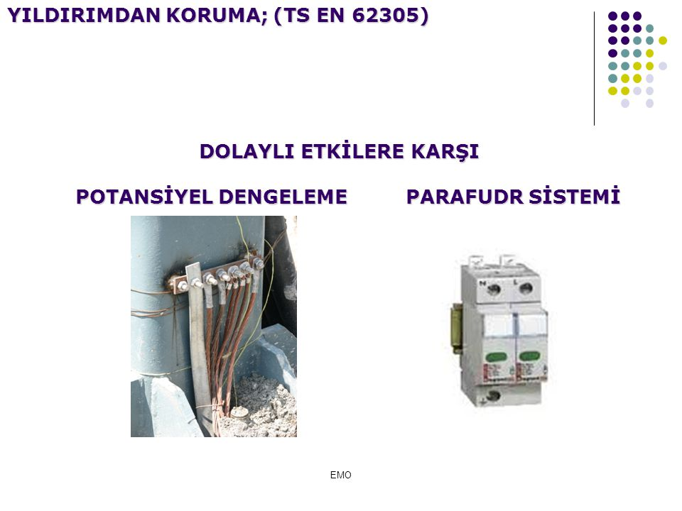 YILDIRIMDAN KORUMA; (TS EN 62305)