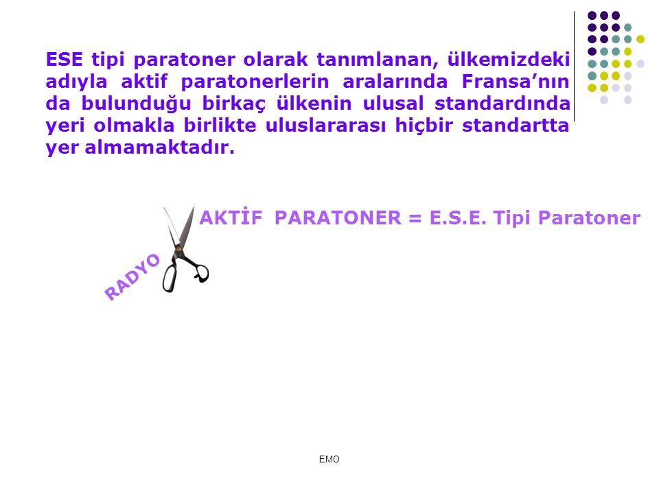 AKTİF PARATONER = E.S.E. Tipi Paratoner