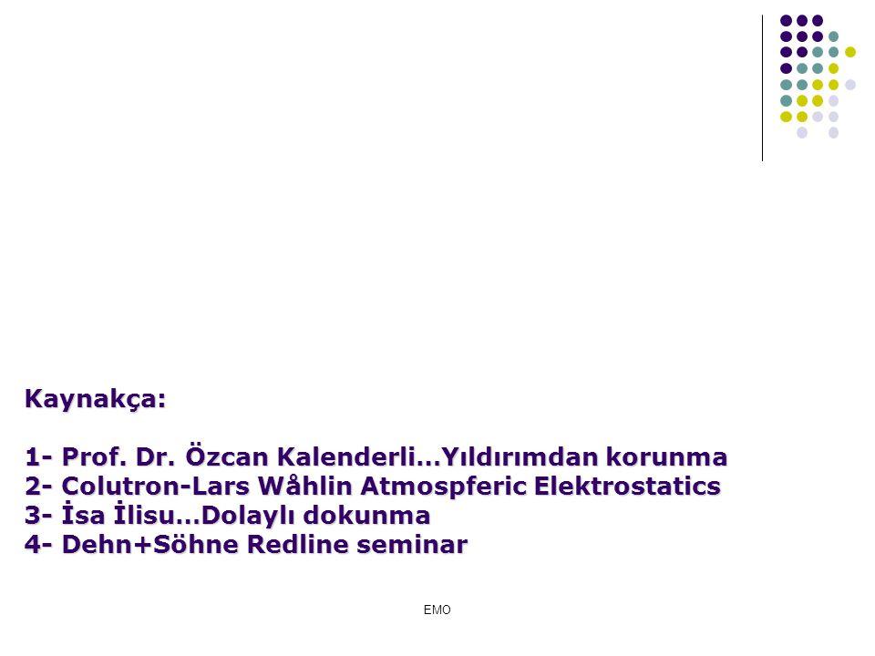 1- Prof. Dr. Özcan Kalenderli…Yıldırımdan korunma