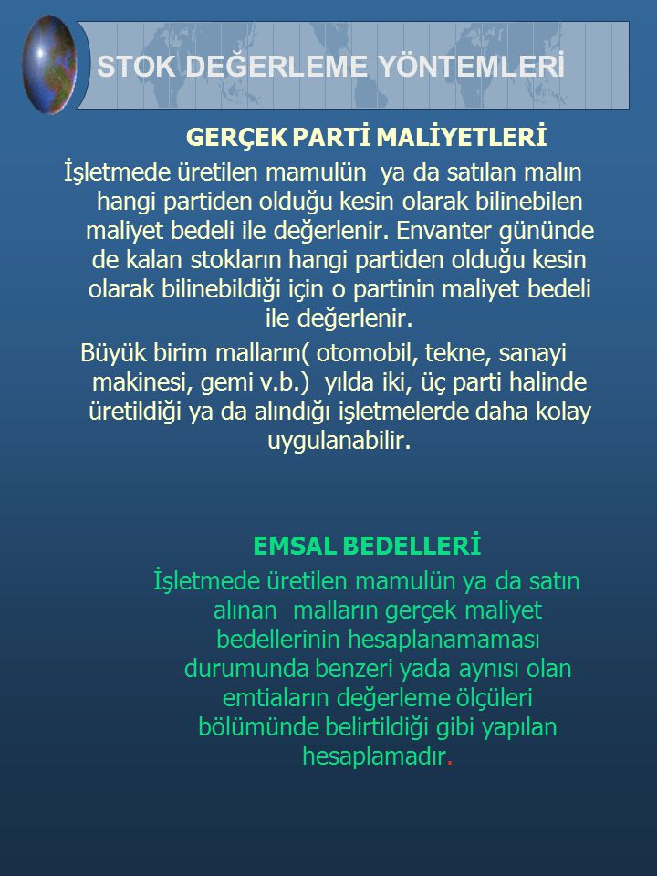 GERÇEK PARTİ MALİYETLERİ