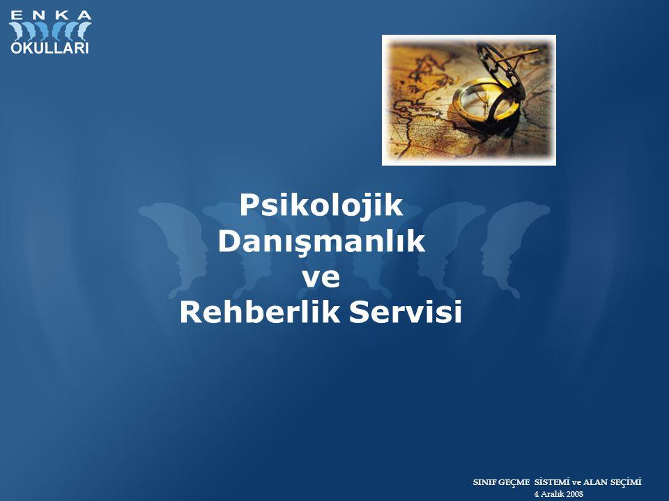 Psikolojik Danışmanlık ve Rehberlik Servisi