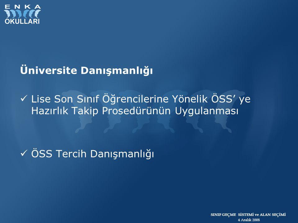 Üniversite Danışmanlığı