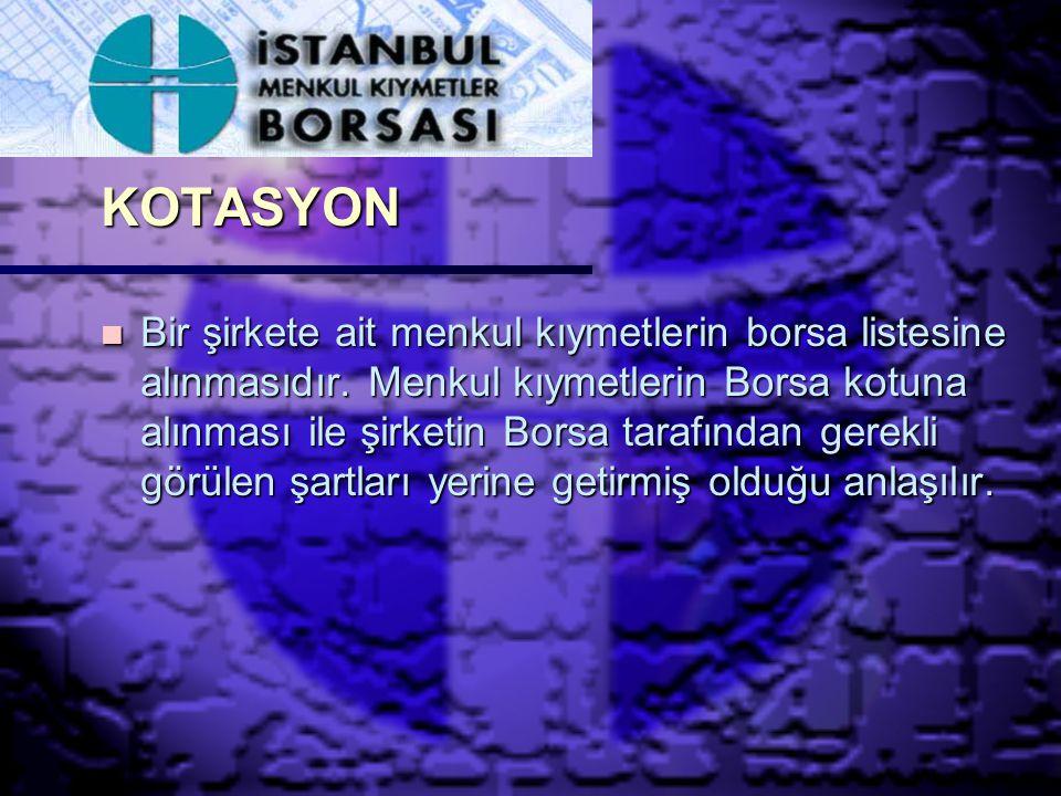 KOTASYON