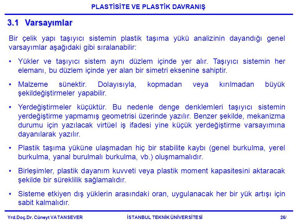 PLASTİSİTE VE PLASTİK DAVRANIŞ