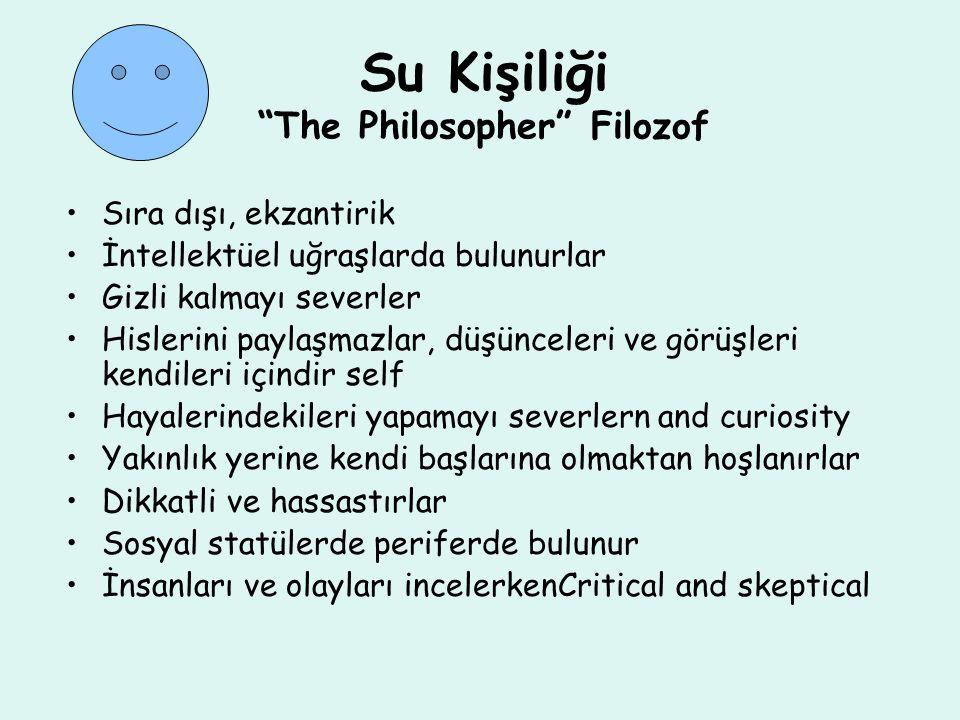 Su Kişiliği The Philosopher Filozof