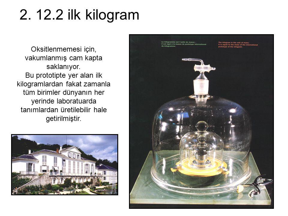 2. 12.2 ilk kilogram