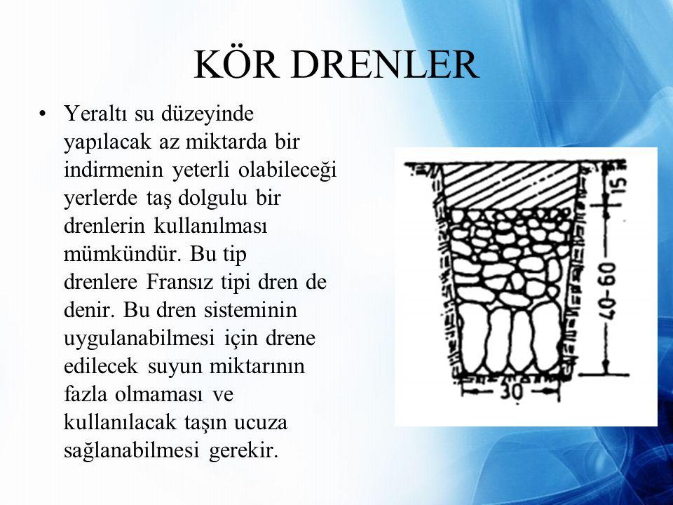 KÖR DRENLER