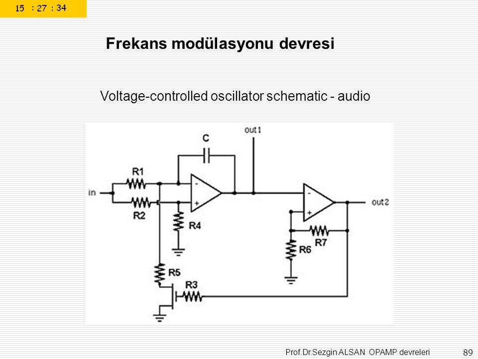Frekans modülasyonu devresi