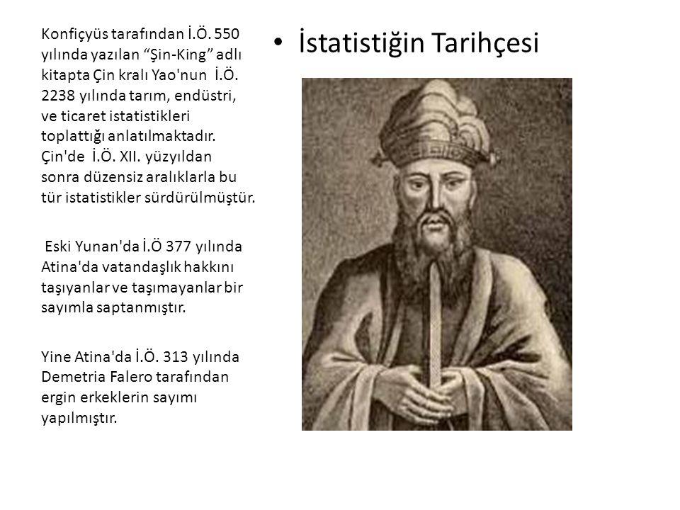İstatistiğin Tarihçesi