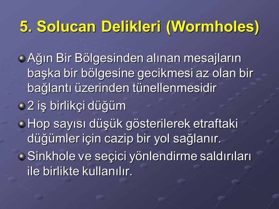 5. Solucan Delikleri (Wormholes)