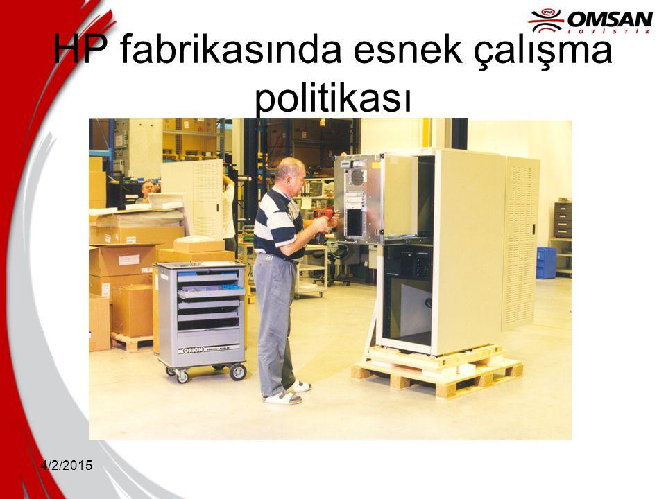 HP fabrikasında esnek çalışma politikası