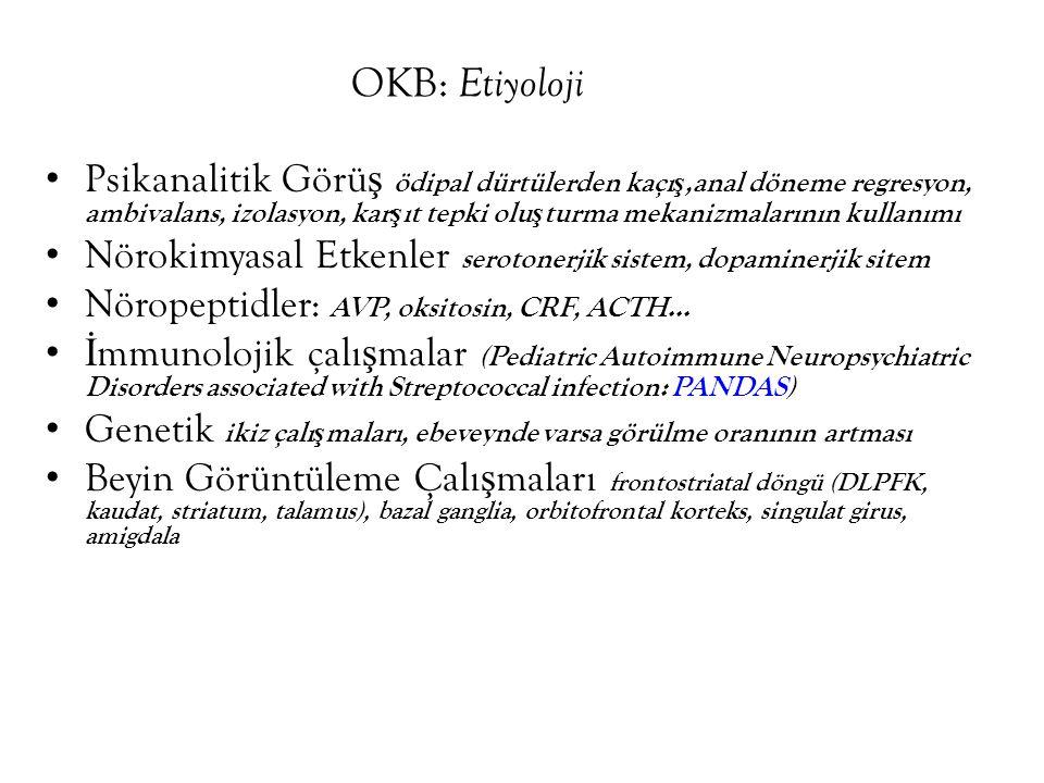 OKB: Etiyoloji