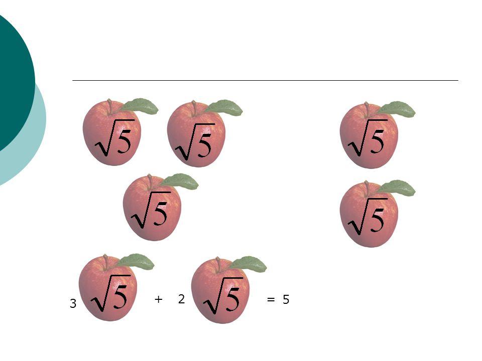 + 2 = 5 3