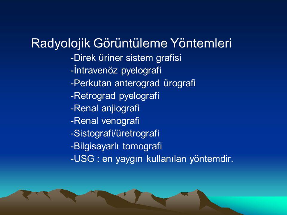 Radyolojik Görüntüleme Yöntemleri