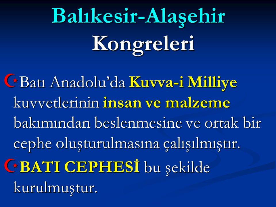 Balıkesir-Alaşehir Kongreleri
