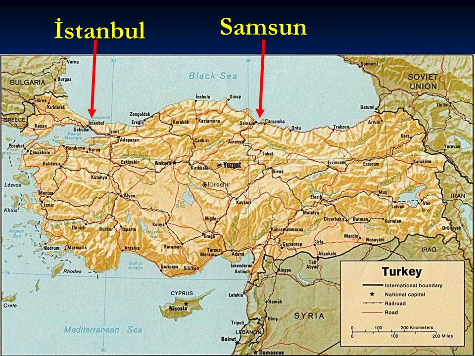 Samsun İstanbul