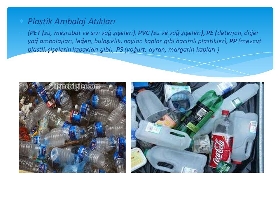 Plastik Ambalaj Atıkları