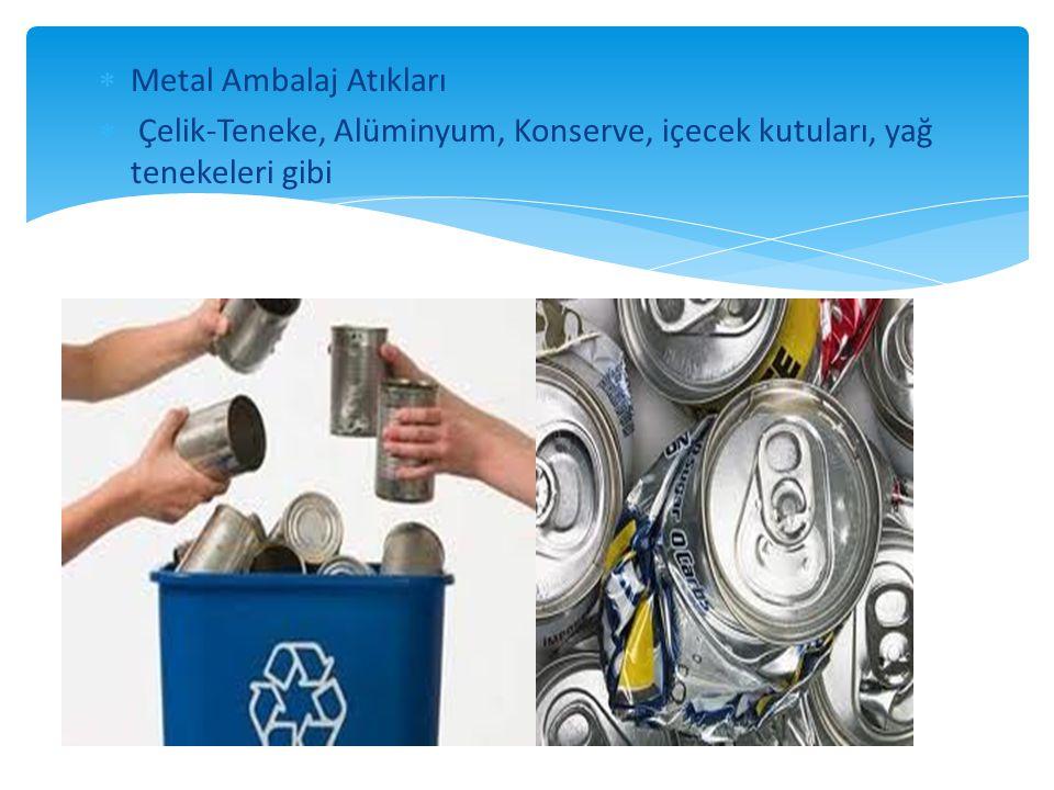 Metal Ambalaj Atıkları