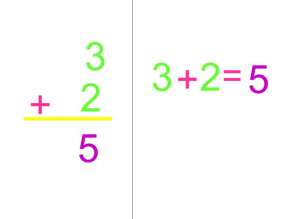 3 3 2 5 = + 2 + 5