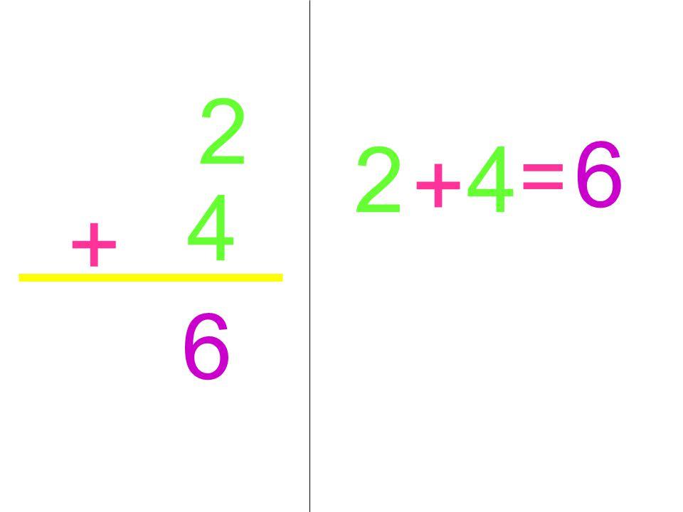 2 6 2 4 = + 4 + 6
