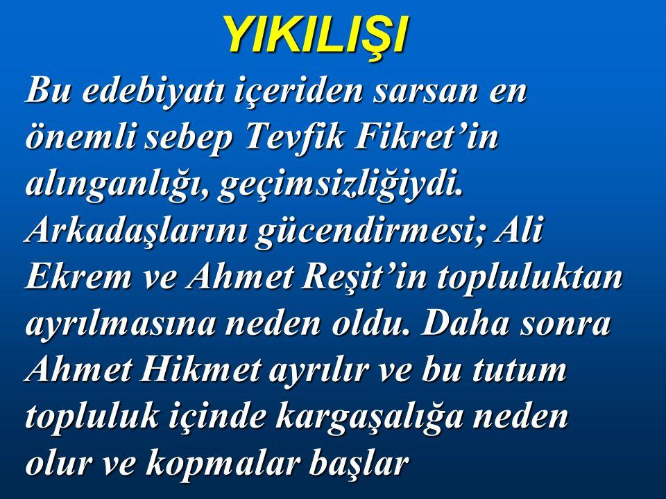 YIKILIŞI