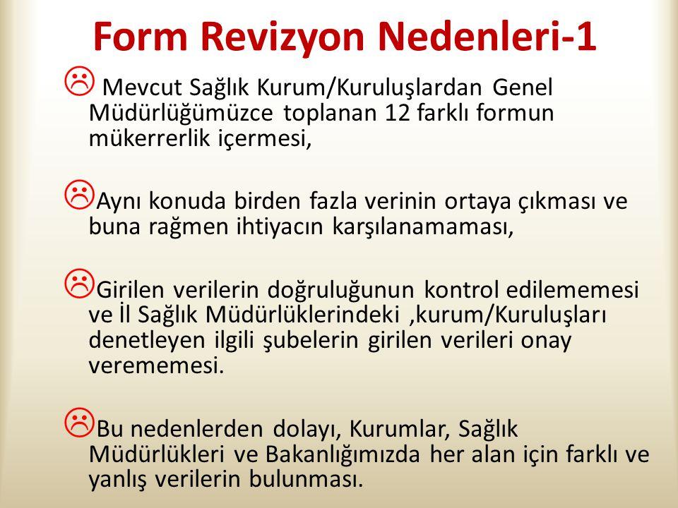 Form Revizyon Nedenleri-1