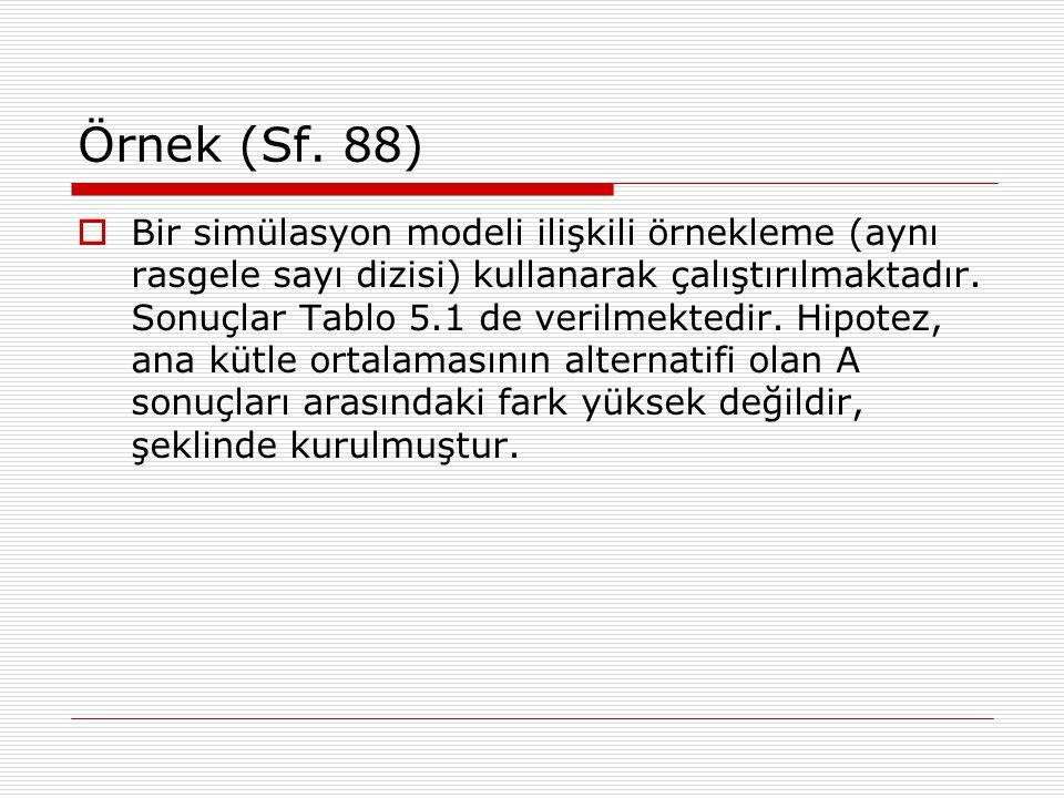 Örnek (Sf. 88)