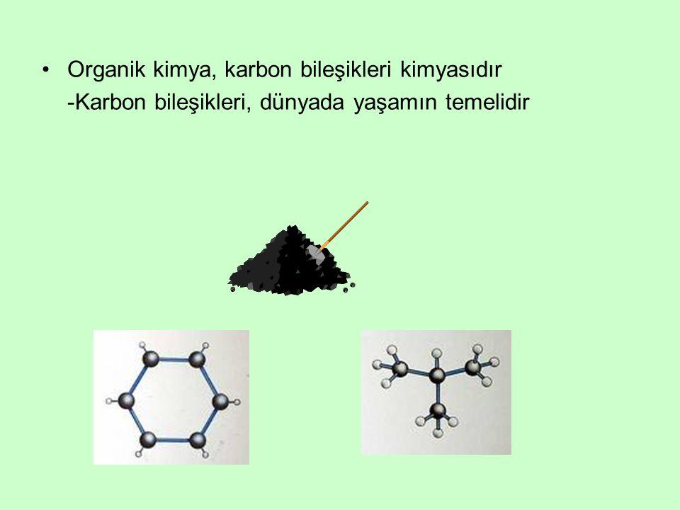 Organik kimya, karbon bileşikleri kimyasıdır