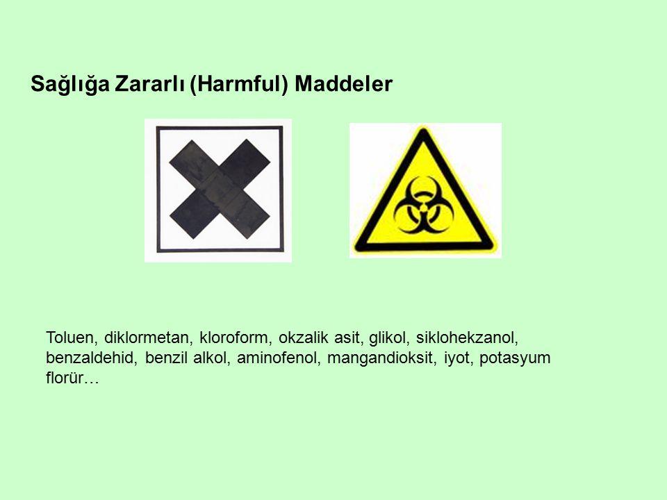 Sağlığa Zararlı (Harmful) Maddeler
