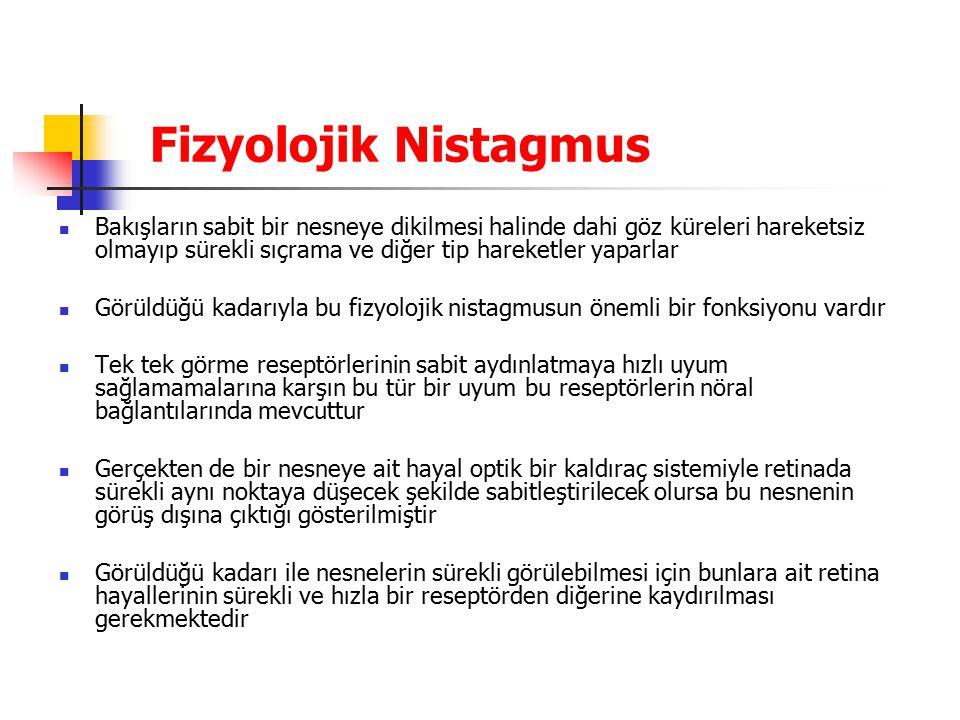 Fizyolojik Nistagmus