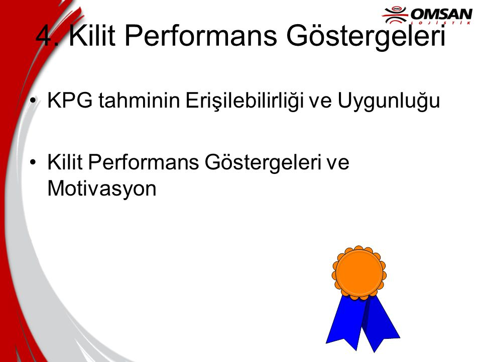 4. Kilit Performans Göstergeleri