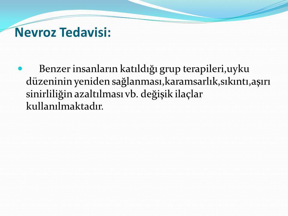 Nevroz Tedavisi: