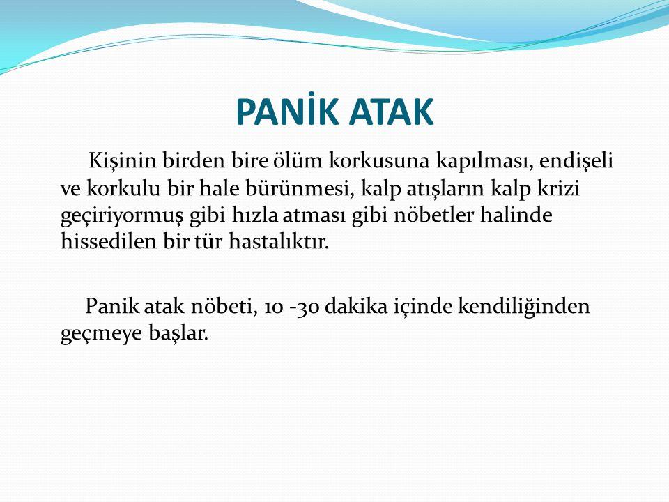 PANİK ATAK