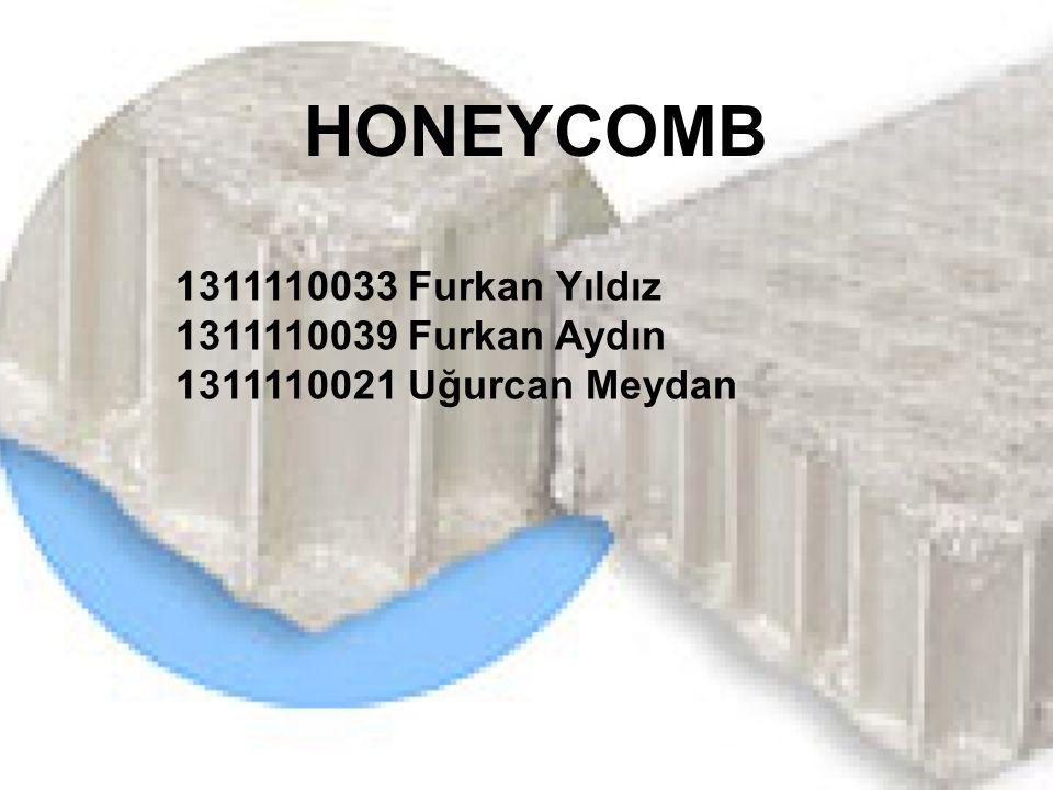 HONEYCOMB 1311110033 Furkan Yıldız 1311110039 Furkan Aydın