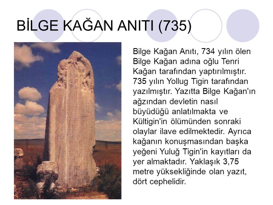BİLGE KAĞAN ANITI (735)