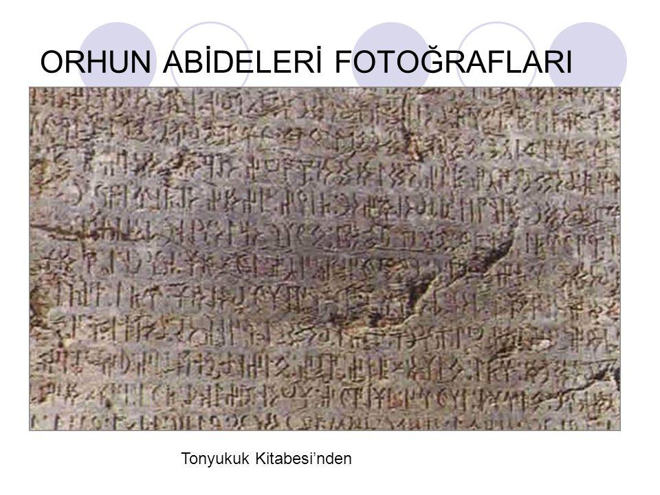 ORHUN ABİDELERİ FOTOĞRAFLARI