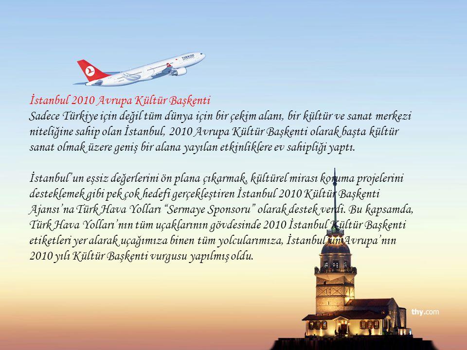 İstanbul 2010 Avrupa Kültür Başkenti Sadece Türkiye için değil tüm dünya için bir çekim alanı, bir kültür ve sanat merkezi niteliğine sahip olan İstanbul, 2010 Avrupa Kültür Başkenti olarak başta kültür sanat olmak üzere geniş bir alana yayılan etkinliklere ev sahipliği yaptı.