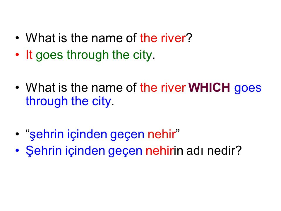 What is the name of the river
