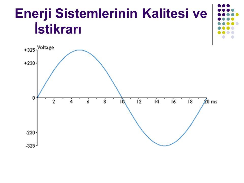 Enerji Sistemlerinin Kalitesi ve İstikrarı