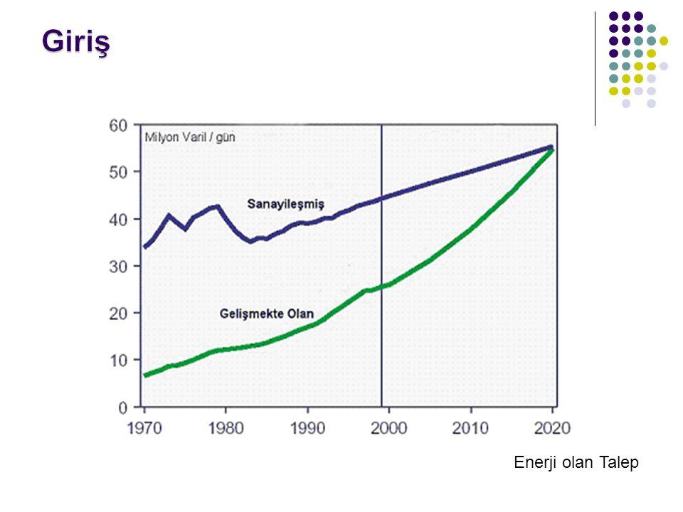 Giriş Enerjiye Enerji olan Talep 5