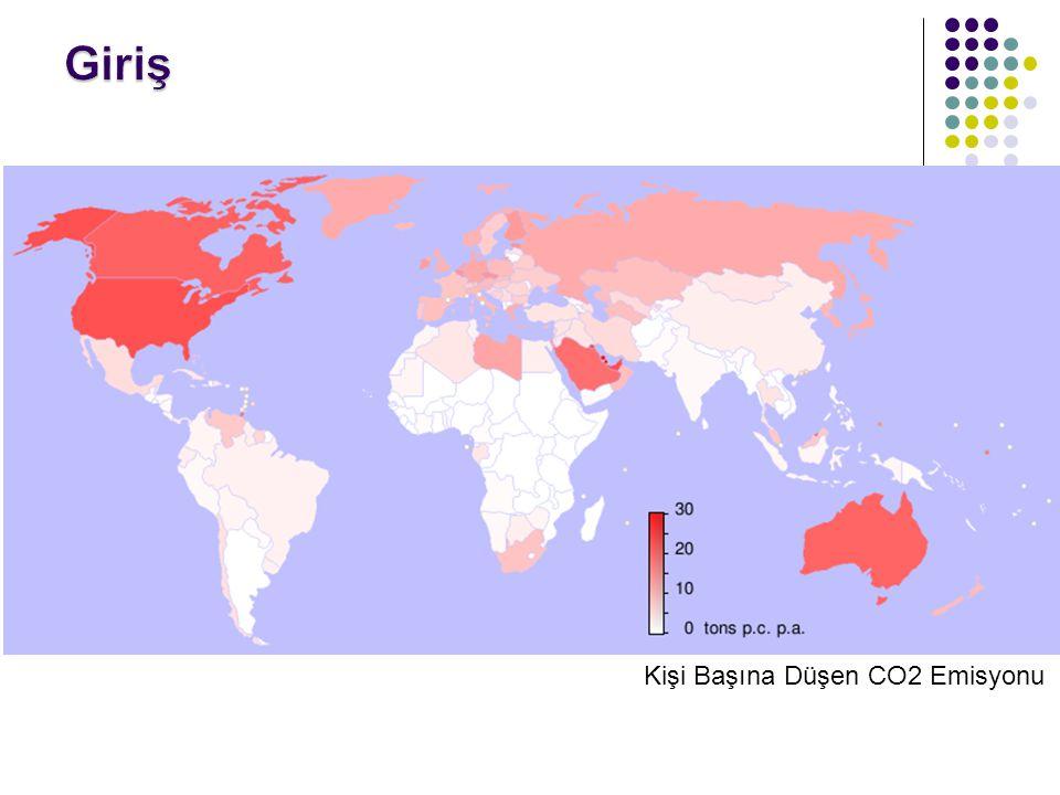 Giriş Kişi Başına Düşen CO2 Emisyonu