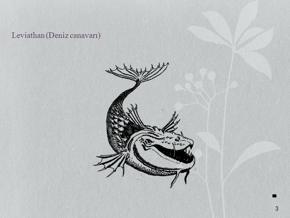 Leviathan (Deniz canavarı)