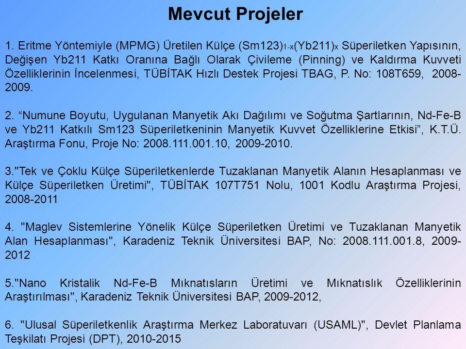 Mevcut Projeler