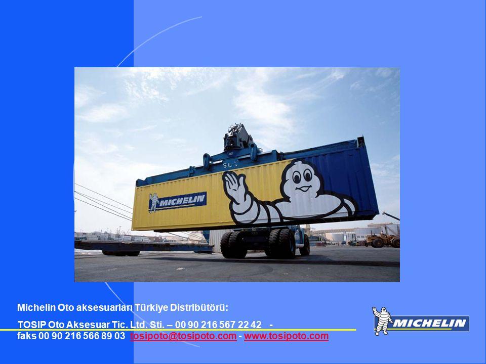 Michelin Oto aksesuarları Türkiye Distribütörü: